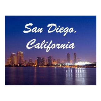 San Diego Kalifornien Skyline-Sonnenaufgang Postkarte