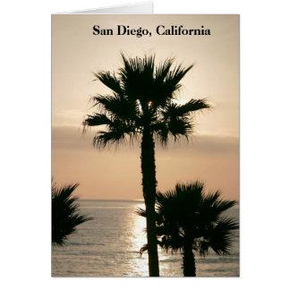 San Diego Kalifornien Sonnenuntergang Karte