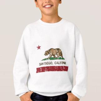 San Diego Kalifornien Staat falg Sweatshirt