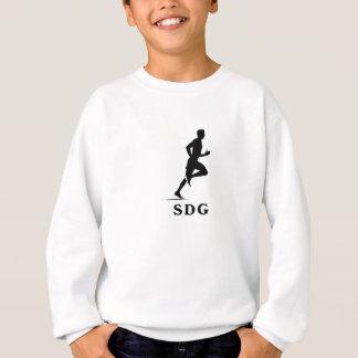 San Diego Kalifornien Stadt-laufendes Akronym Sweatshirt