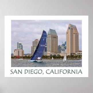 San Diego, Kalifornien (USA) Plakat