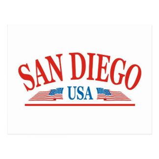 San Diego Kalifornien USA Postkarte
