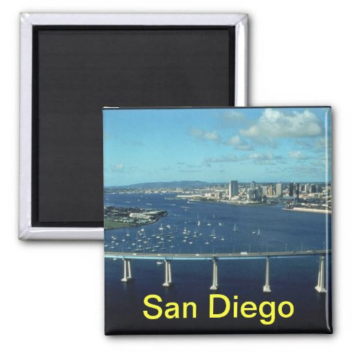 San Diego Kühlschrankmagnet