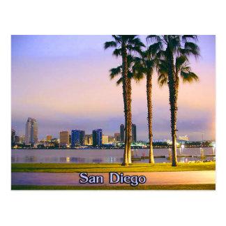 San Diego Küstenlinie Postkarte