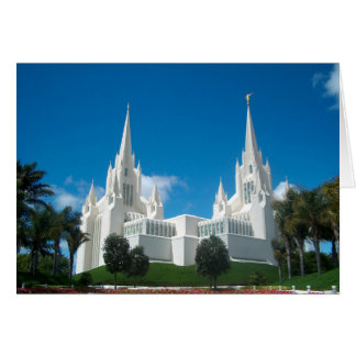 San Diego LDS Tempel Karte
