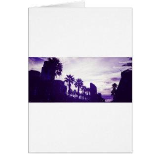 San Diego lila Karte