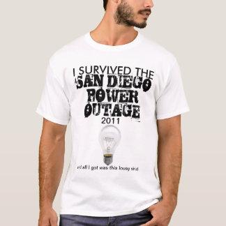 San Diego Power-Ausfall im September 2011 T-Shirt