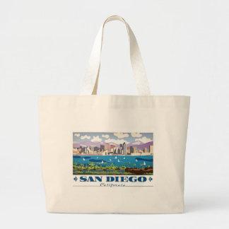 San Diego Skyline Jumbo Stoffbeutel