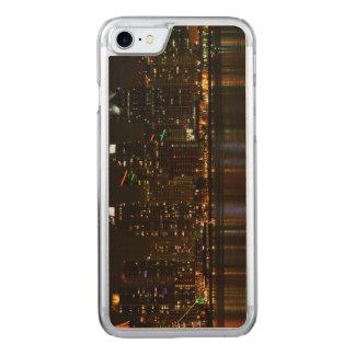 San Diego Skyline-Nacht Carved iPhone 8/7 Hülle