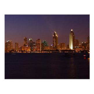 San Diego Skyline Postkarte