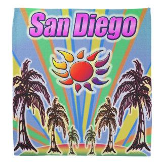 San Diego Sommer-LiebeBandana Kopftuch