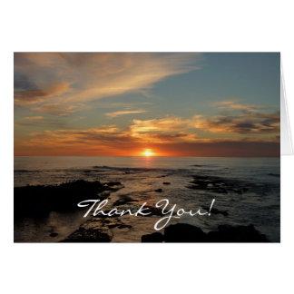 San Diego Sonnenuntergang II danken Ihnen zu Karte