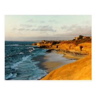 San Diego Strand-Fotopostkarte Postkarte
