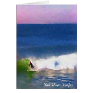 San Diego Surfer Karte