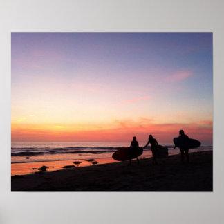 San Diego Surfer Poster