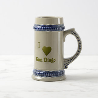 San Diego -- Tiefgrün Bierglas