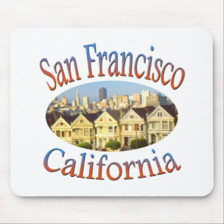 San Francisco Alamo Quadrat Mousepad