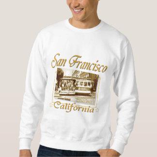 San Francisco alte Drahtseilbahn Sweatshirt