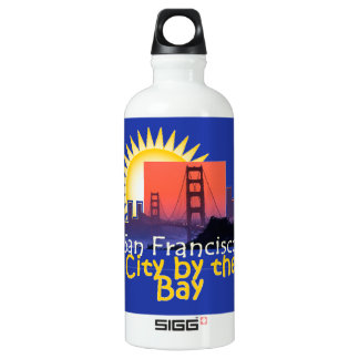 SAN FRANCISCO ALUMINIUMWASSERFLASCHE