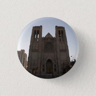 San Francisco Anmut-Kathedrale Pinback Knopf Runder Button 2,5 Cm