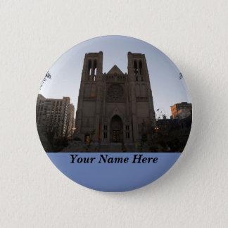 San Francisco Anmut-Kathedrale Pinback Knopf Runder Button 5,7 Cm