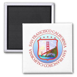 San Francisco Bay Kalifornien Quadratischer Magnet
