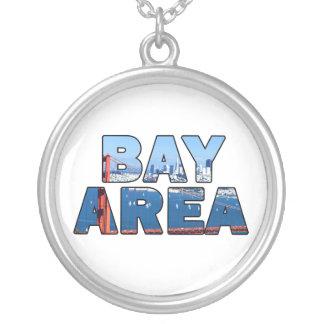 San- Francisco Baybereich Versilberte Kette