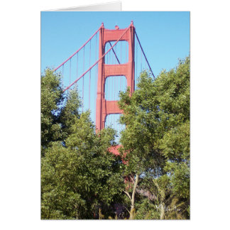 San- Francisco Baybrücke Grußkarte