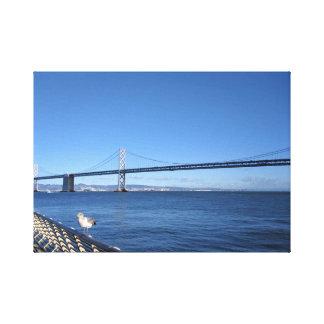 San- Francisco Baybrücke Leinwanddruck