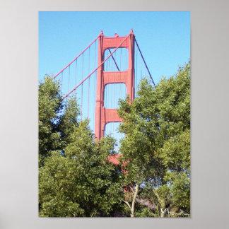 San- Francisco Baybrücke Plakatdrucke