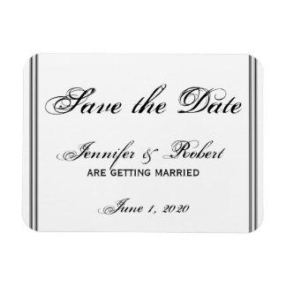 San Francisco Bestimmungsort Save the Date Magnet