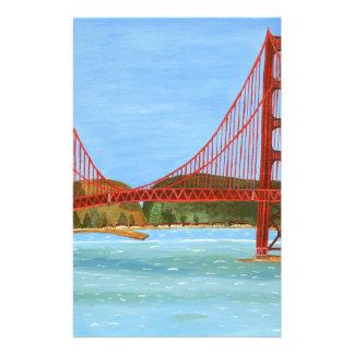 San Francisco Brücke Briefpapier