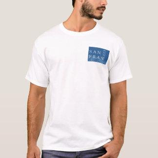 San Francisco Brücken-Blau T-Shirt