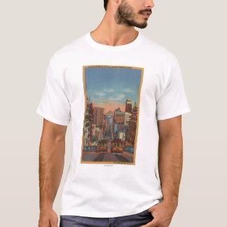 San Francisco, CA - Drahtseilbahnen, die steigen T-Shirt