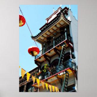 San Francisco Chinatown Poster