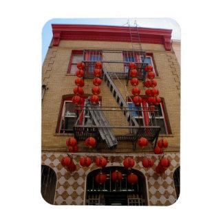 San Francisco Chinatown Tempel-Magnet Magnet