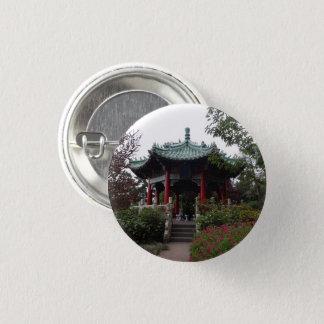 San Francisco chinesischer Pavillon Pinback Knopf Runder Button 2,5 Cm