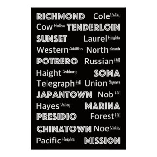 San Francisco - City District´s Poster