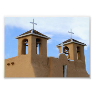 San Francisco de Asis Auftrag-Glockentürme, Taos Photographien