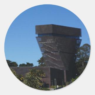 San Francisco de Young Museum Aufkleber