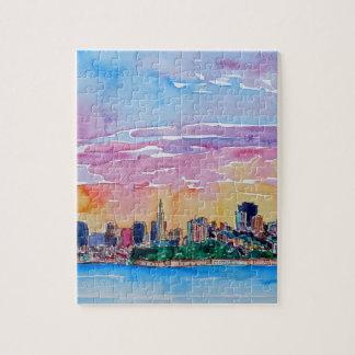 San Francisco der Dämmerung Sonnenuntergang Puzzle