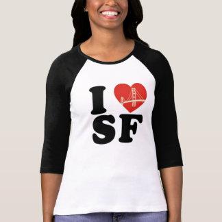 San Francisco der Liebe I Brückenherz T-Shirt