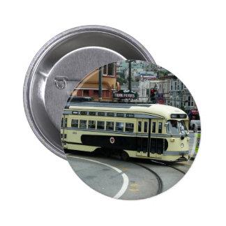 San Francisco Drahtseilbahn Button