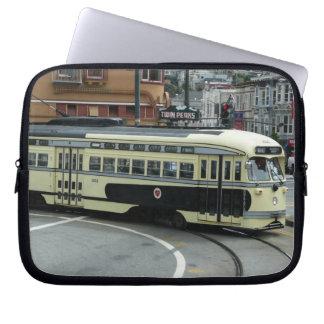 San Francisco Drahtseilbahn Computer Sleeve Schutzhülle
