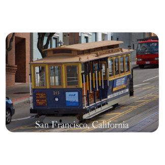 San Francisco Drahtseilbahn erstklassiger Flexi Rechteckige Magnete