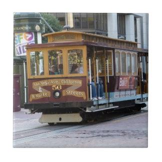 San Francisco Drahtseilbahn Fliesen