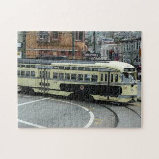 San Francisco Drahtseilbahn Foto Puzzles