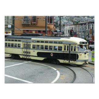 San Francisco Drahtseilbahn Fotografische Drucke