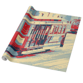 San Francisco, Drahtseilbahn Geschenkpapierrolle