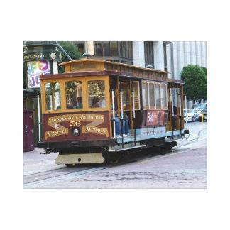 San Francisco Drahtseilbahn Gespannte Galerie Drucke